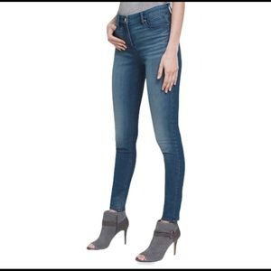 Free People High Rise Stretch Skinny Jeans